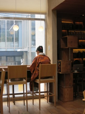 Muji Café is a happy place for many Japanese.