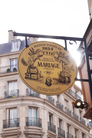Mariage Frères' French Breakfast Tea is the flavor to sip when in Paris.