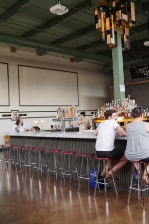a bar in Bushwick which is also a cinema.