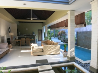 Loved the open-air living room