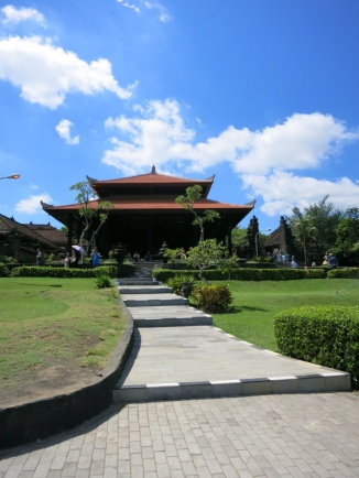 There are plenty of beautiful parks and temple on Bali