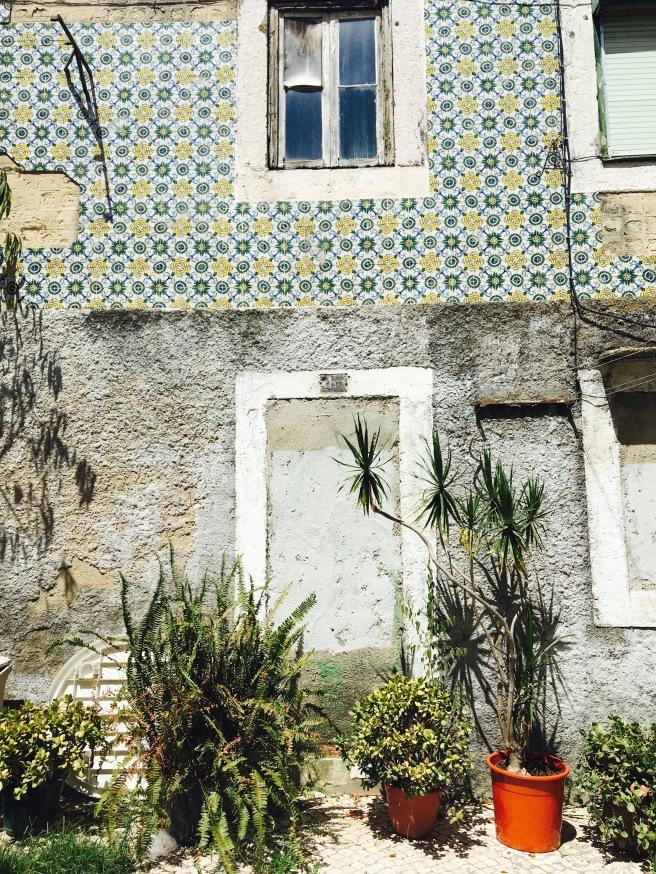 Lisbons' signature tiles.
