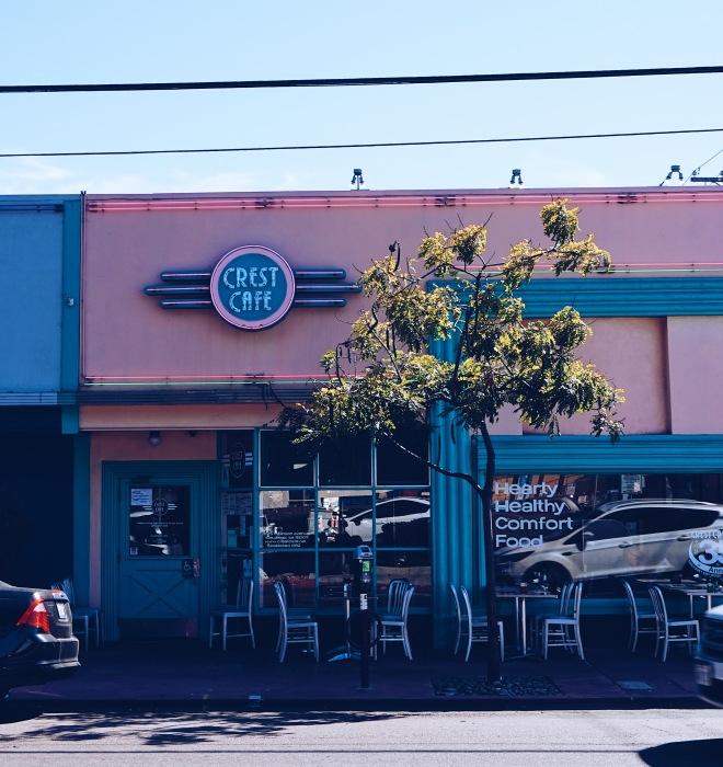 Crest Cafe in San Diego